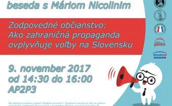Zodpovedné občianstvo: ako zahraničná propaganda ovplyvňuje voľby na Slovensku