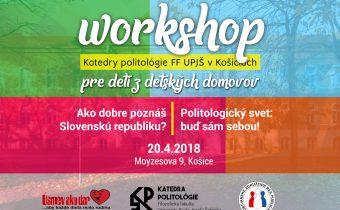 Workshop pre deti z detských domovov
